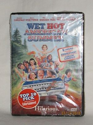 Wet Hot American Summer Dvd 2002 Widescreen Comedy Rare Oop Htf New Sealed