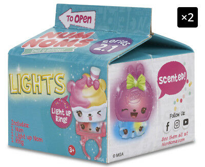 2 x Num Noms Lights Mystery Pack - Randomly Selected