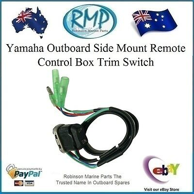 A New RMP Trim Switch Suits Yamaha Outboard 703 Control Boxes # R 703-82563-02
