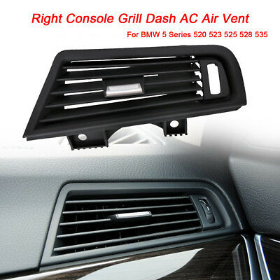 Right Console Grill Dash AC Air Vent For BMW 5 Series 520 523 525 528 530 535