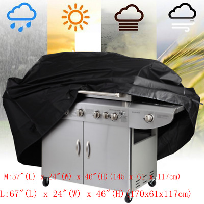 Waterproof BBQ Cover Gas Barbecue Grill Protection Outdoor Garden Patio Protect