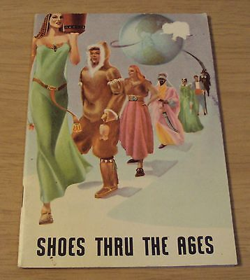 "VTG 1950's ADVERTISING Booklet~""SHOES THRU the AGES""~Red Goose/Boys & Girls~"