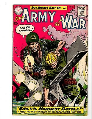 Our Army At War #99 Fi/vf (1960) (B)