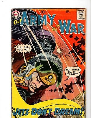Our Army At War #77 Vg (1958)