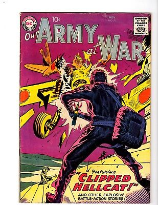 Our Army At War #76 Vg/fi (1958)