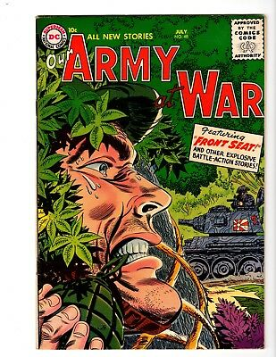 Our Army At War #48 Vf- (1956)
