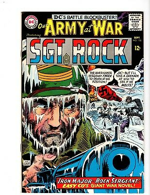 OUR ARMY AT WAR #158 VF/NM (1965) (Origin & 1st. app. Iron Major)