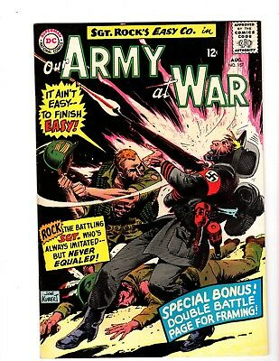 Our Army At War #157 Nm- (1965)