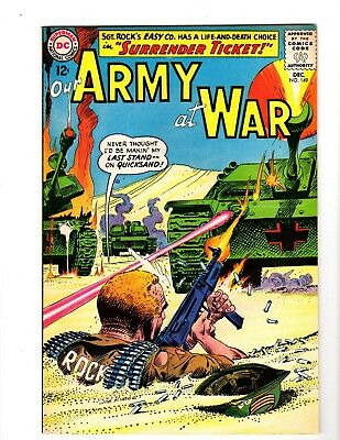 Our Army At War #149 Vf/nm (1964)