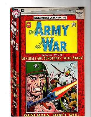 OUR ARMY AT WAR #148 VF/NM (1964 (Sgt. Rock Becomes a General)