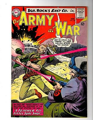 Our Army At War #145 Vf/nm (1964)