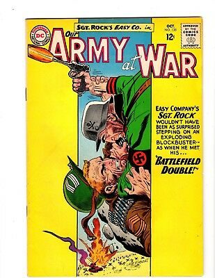 Our Army At War #135 Vf+ (1963)