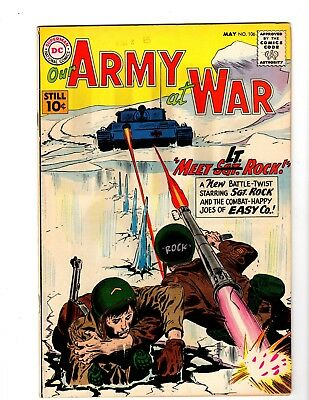 Our Army At War #106 Fine- (1961) (B)