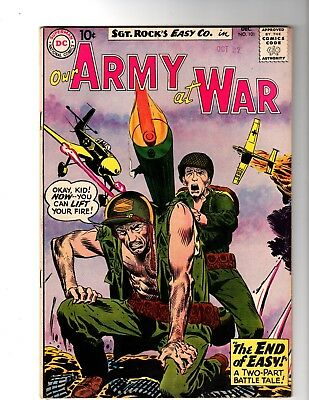 Our Army At War #101 Vf+ (1960) (B)