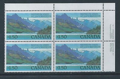 Canada #935iii UR PL BL W/O Beacon in Mountain LF Variety MNH **Free Shipping**