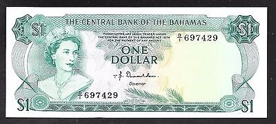 Bahamas Paper Money - 1 Dollar Note - L1974 - P35a - Uncirculated