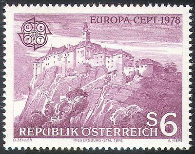 Austria 1978 Europa/Castles/Buildings/Architecture/Heritage/History 1v (n41234)