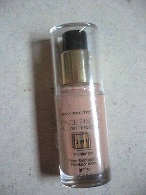 Max Factor Face Finity 3 in 1 Foundation Primer Concealer Farbe Natural 50 NEU