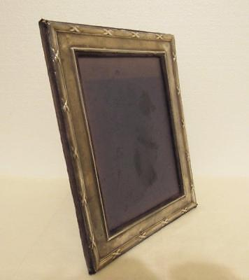 Sterling Silver Art Nouveau Picture Photo Frame Easel KFLD Keyford Ltd. as-is!
