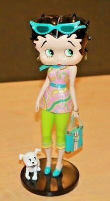 "2006 Danbury Mint Betty Boop ""Palm Beach Beauty"" Figure 9.5"" Tall Free Shipping"