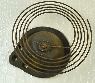 Clock Parts and Tools - Antique Coil Gong Strike Chime Lot 3