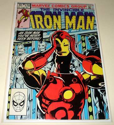 The INVINCIBLE IRON MAN # 170 Marvel Comic  VG/FN   1st JIM RHODES as IRON MAN