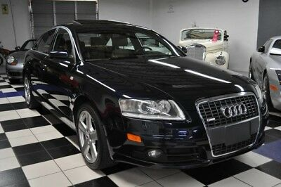 2008 Audi A6 QUATTRO S-LINE - DEALER MAINTAINED  - LOADED 2008 Audi - CERTIFIED CARFAX - OUTSTANDING CONDITION - AMAZING COLOR COMBINATION