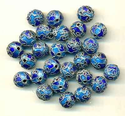 Lot of 27 Cloisonne Beads