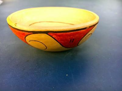 Hopi American Native Indian Signed Bowl.  D. Tootsie Hopi Indian `collectible--
