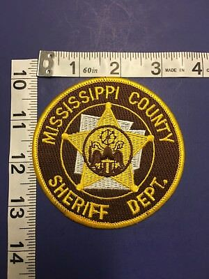 Mississippi County Arkansas Sheriff Shoulder  Patch