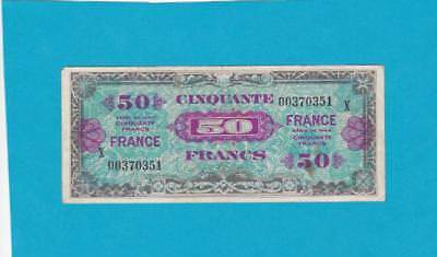 Billet 50 Francs France - 1945 - Série X