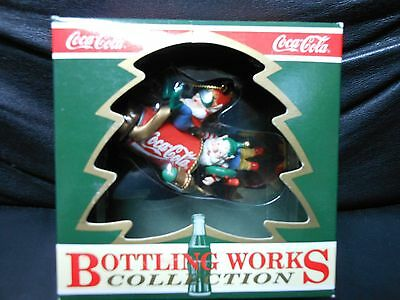 """Coca Cola """"Blast Off"""" 1992 Bottling Works Collection Ornament NEW 8th in Series"""