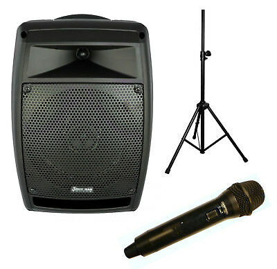 Chiayo StageMan 150W portable PA with 1x wireless microphone, Bluetooth