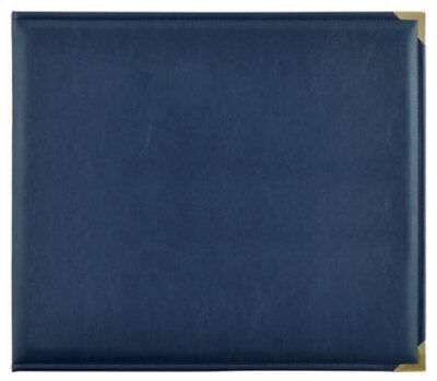 *A&B* KAISERCRAFT Scrapbooking D-Ring Photo Album - PU Leather - Navy
