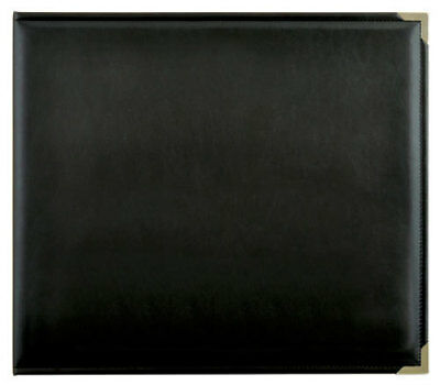 *A&B* KAISERCRAFT Scrapbooking D-Ring Photo Album - PU Leather - Black