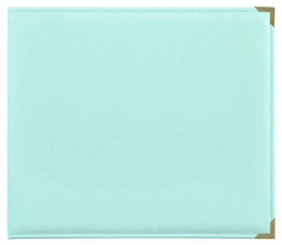 *A&B* KAISERCRAFT Scrapbooking D-Ring Photo Album - PU Leather - Mint