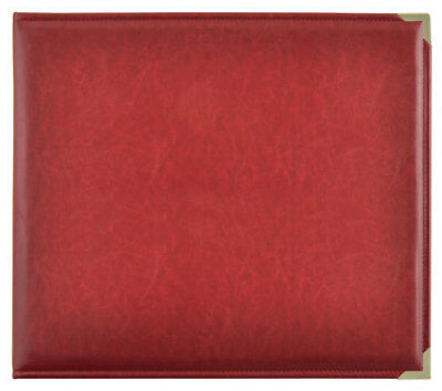 *A&B* KAISERCRAFT Scrapbooking D-Ring Photo Album - PU Leather - Deep Red