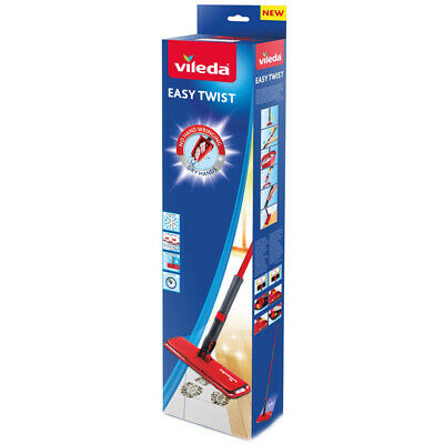 Vileda Easy Twist Flat Mop, CHOICE OF MOP OR MOP REFILL, ONE SUPPLIED, NEW
