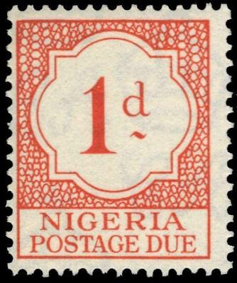 "NIGERIA J1 (SG D1) - Numeral of Value ""Postage Due"" (pf75069)"