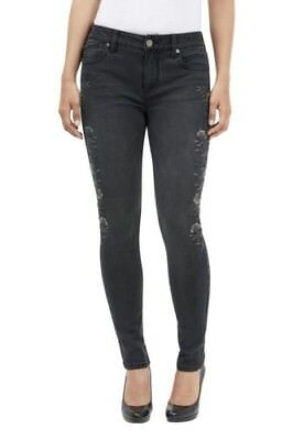 NEW Seven7 Women's Skinny Jeans - Perses Black - Size: 8