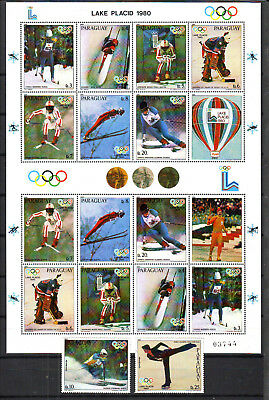 Ol. Spiele,Olympic Games,Paraguay,1980,3281-9**