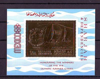 Ol.Spiele,Olympic Games,Sharjah,Bl. A526**(Aufdr. HONOURING..)