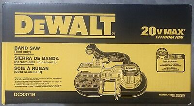 DEWALT DCS371B 20V MAX Li-Ion Band Saw (Bare Tool) - BRAND NEW !!!!!!!