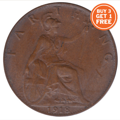 1911 - 1936 George V Farthing Coin Wren  Choice Of Year Date Buy 3 Get 1 Free!!