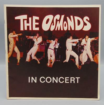 The Osmonds 1972 In Concert Tour Book/Program/Guide B