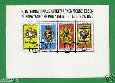 Vignette ! 2. Internationale Briefmarkenmesse Essen 1978 Tag der Briefmarke