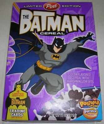 The Batman Limited Edition Post Cereal Sealed With Trading Cards (2005) Rare