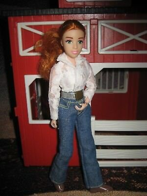 Breyer Traditional Cowgirl Doll ARTICULATED AND RED HAIR