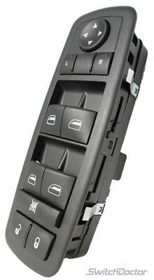 2008-2010 Dodge Grand Caravan Master Power Window Switch (1 Touch Up & Down)