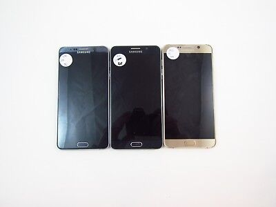 Lot of 3 Parts & Repair Samsung Galaxy Note 5 N920R4 US Cellular Check IMEI PR